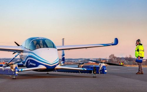 Boeing's flying taxi takes to the skies in its first test flight