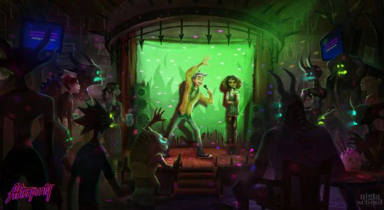 Oxenfree Dev's Next Game, Afterparty, Has You Outdrink Satan To Escape Hell In