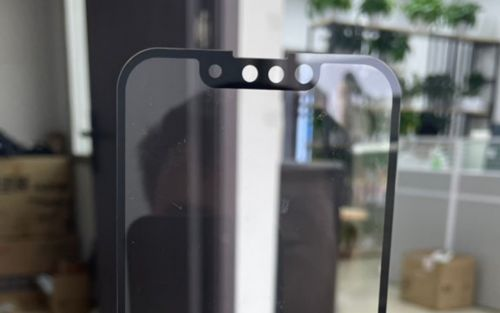 IPhone 13 notch size compared to iPhone 12 looks significantly smaller