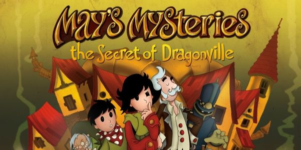May's Mysteries: The Secret of Dragonville is a puzzle adventure game inspired by Professor Layton, available now for Android