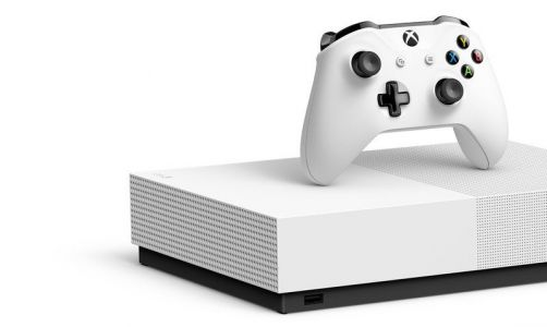 Xbox One S All-Digital still has an eject button and disc drive port inside