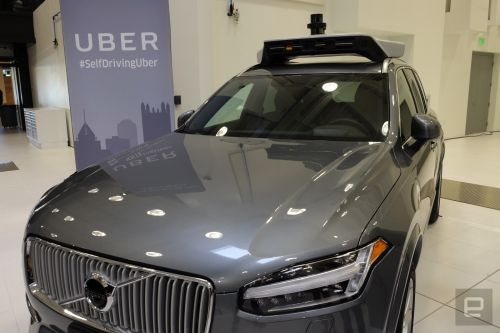Uber orders up to 24,000 Volvo SUVs for its self-driving fleet