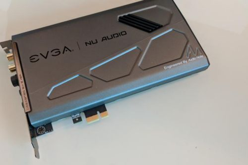 EVGA gets into sound cards with Nu Audio, a high-end board that delivers 'lifelike' gaming