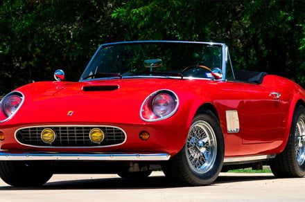 The Ferrari from 'Ferris Bueller's Day Off' heads to the auction block