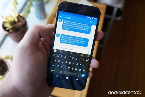If Gboard's acting up on you, give it a reboot