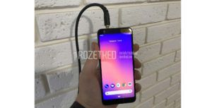 Images of Google's long-rumoured budget Pixel 3 surface online