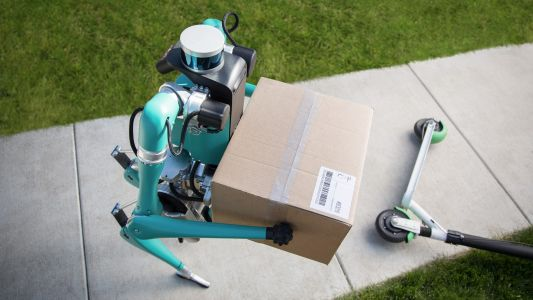 Ford's bipedal robot postman will deliver packages to your front door