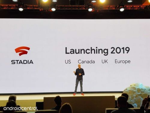 What regions will Stadia be available in?