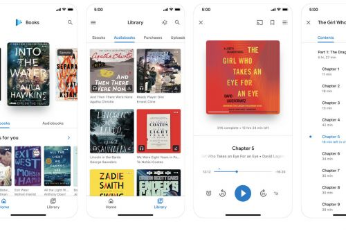 Google updates its Play Books iOS app at the same time as Apple's iBooks update in iOS 12