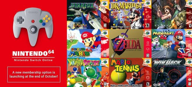 N64 Games Will Be Available in PAL or NTSC on the Switch for European Gamers