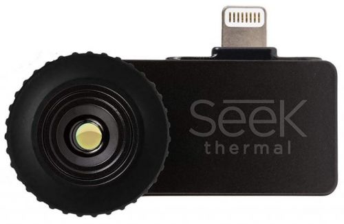 Seek and Ye Shall Find Things in the Dark with an iPhone Thermal Camera