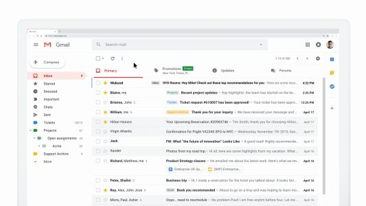 Google makes emails more dynamic with AMP for Email
