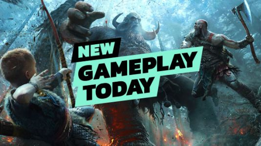 New Gameplay Today - God Of War