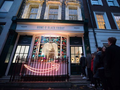 Amazon has opened a pop-up store in London's Soho Square