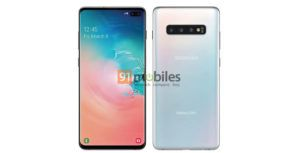 Official spec sheet for Samsung Galaxy S10e, S10 and S10+ surfaces online