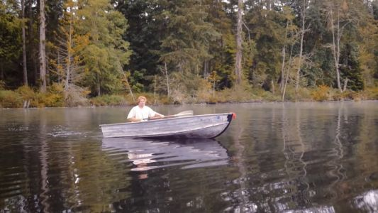 Watch: Two Guys Cut A Boat In Half To See If Flex Tape Will Keep It Afloat