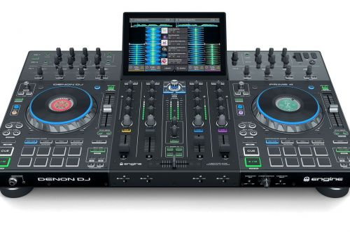 Denon DJ's new four-channel standalone unit shows commitment to battling Pioneer DJ
