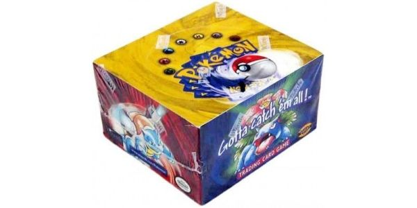 An Original Pokemon Booster Box Just Sold For An Insane Amount Of Money