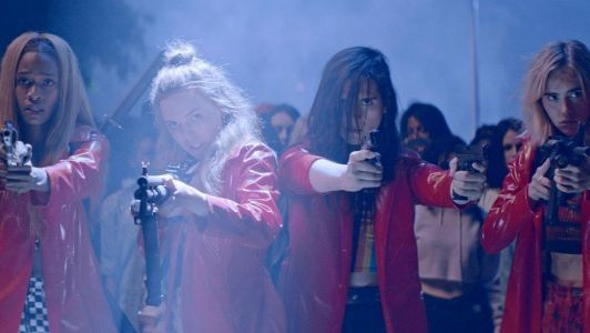 ASSASSINATION NATION - A Colorful Blend Of HEATHERS, THE PURGE with a touch of KILL BILL - One Minute Movie Review