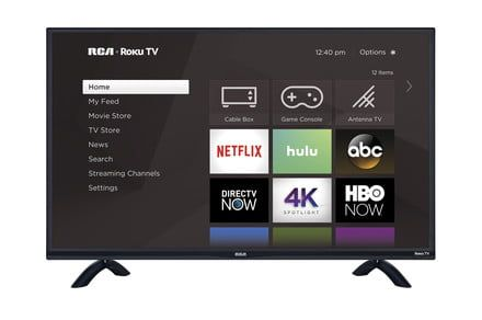 Get the 43-inch RCA Roku smart TV for half its normal price at Walmart