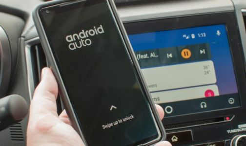 Android Auto lets you use your phone with a swipe up