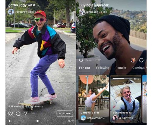 Instagram announces IGTV, a new app for long-form vertical videos