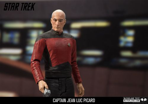 McFarlane Toys Reveals Their Captain Kirk and Captain Picard STAR TREK Action Figure