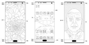 Patent indicates Samsung aims to one-up the iPhone X's 'notch' by putting holes in the screen