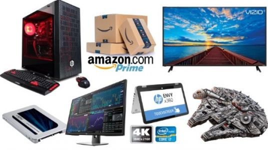 Geek Deals: CyberPowerPC 6-Core Gaming PC for $863, 50-Inch Vizio 4K TV for $300, and more