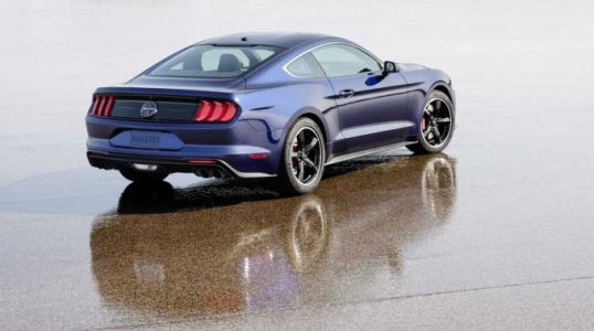 Ford to raffle one-of-a-kind Kona Blue Bullitt Mustang