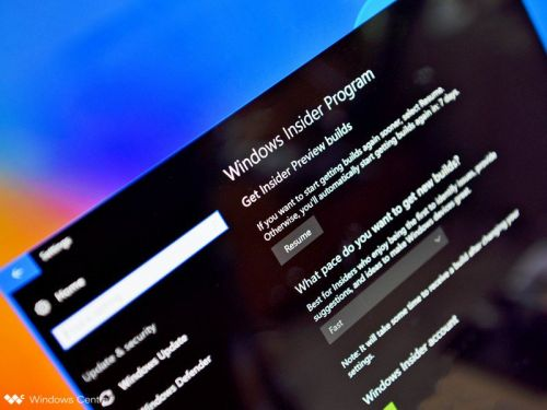 Windows 10 build 18343 rolls out to Insiders on the Fast ring