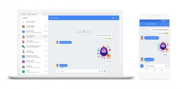 Android Messages for web goes live today