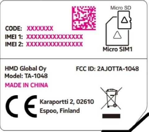 HMD-Built Device Suspected To Be Nokia 4 Certified By FCC