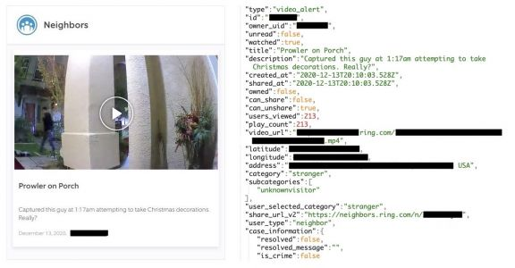 Amazon's Ring Neighbors app exposed users' precise locations and home addresses