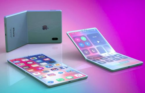 This is what a foldable iPhone with a clamshell design might look like