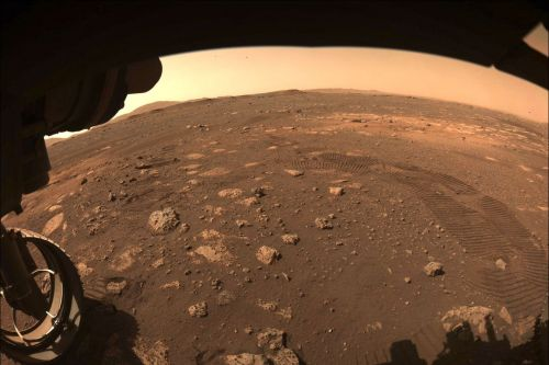 NASA's Perseverance rover scoots around on Mars for the first time
