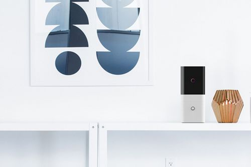Abode's Iota is a security camera, motion sensor, and gateway all in one