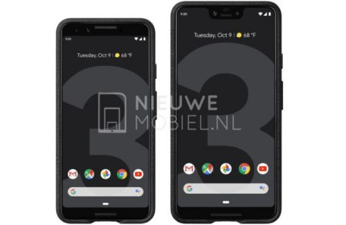 Google Pixel 3 and Pixel 3 XL press renders are our best look yet at the phones
