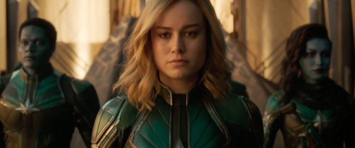 The first 'Captain Marvel' trailer introduces Brie Larson as the Marvel Cinematic Universe's newest superhero