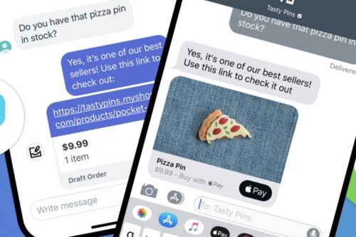 Apple expands iMessage Business Chat to Shopify online stores