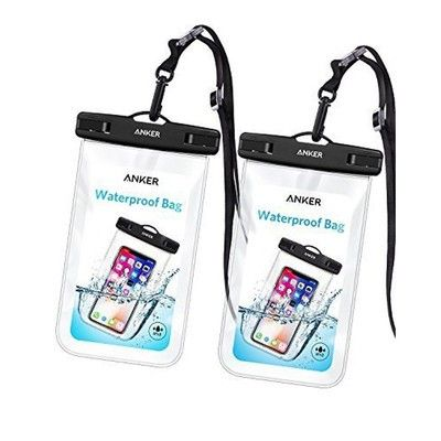 Keep your devices protected with two Anker waterproof bags for $7
