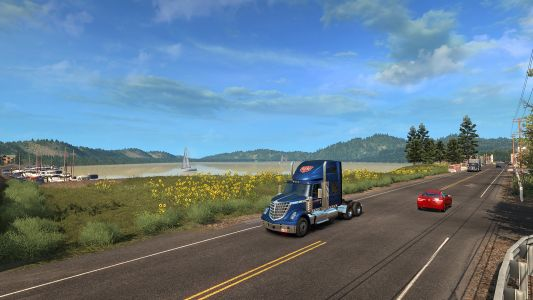 American Truck Simulator will encourage sightseeing with Viewpoint cinematics