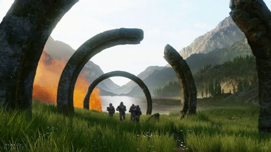 Halo Infinite to reward exploration and highlight natural landscapes
