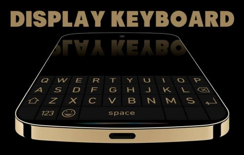 This BlackBerry Concept Smartphone Has An Interesting Display Keyboard