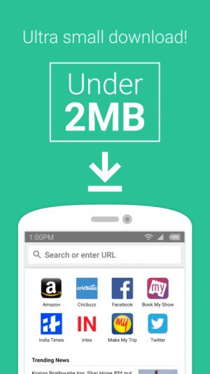 "Amazon launches a ""lite"" Android web browser app in India"
