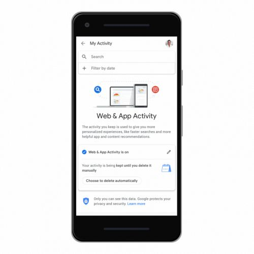 Google now lets you auto-delete your location history and activity data