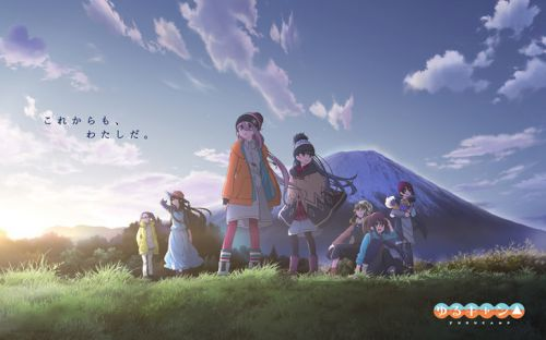 Popular 2018 Anime Laid-Back Camp Will Get A Follow-Up In January 2020