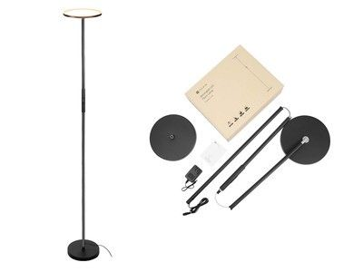 The discounted Teckin smart floor lamp can light up a room with your voice
