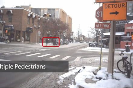 Researchers teach self-driving cars to predict pedestrians' next moves