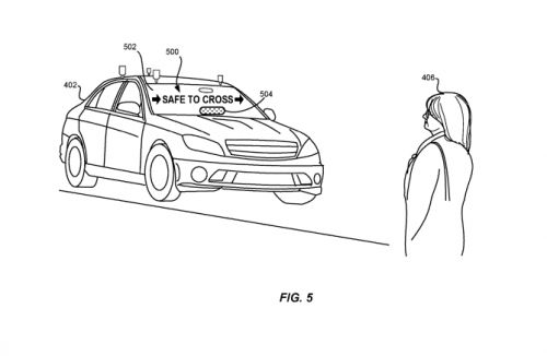 Here's how Lyft envisions self-driving cars communicating with pedestrians